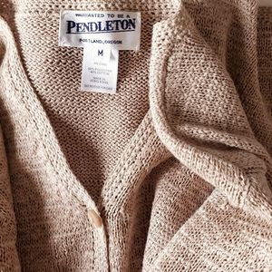 Pendleton Button Cardigan